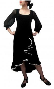 Vestido Midi Victoria Flamenca
