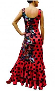 Marbella Long-Dress 3 Ruffles