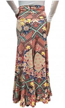 Vitoria Printed Long-Skirt
