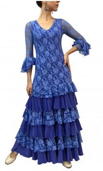 Hortensia Lace Long-Dress 6 Ruffles