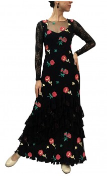 Paloma Embroidered Tulle Dress