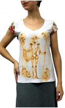 Camiseta Postal Don Quijote