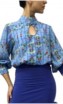 Camisa-Colant KARIME Chiffon