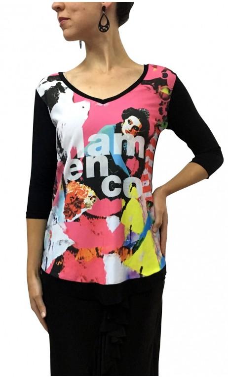 Batinha Flamenco Color
