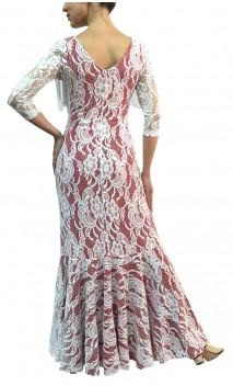 Aurora Lace Long-Dress w/Fringe
