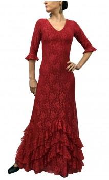 Milene Lace Dress w/ Petticoat