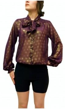 Camisa-Colant CARMEN Lunares Dourados